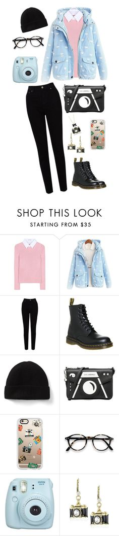 """still love"" by marielaznickova on Polyvore featuring Altuzarra, EAST, Dr. Martens, Karl Lagerfeld, Casetify, Fujifilm and Betsey Johnson"