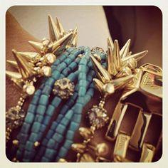 So pretty! 2 Renegade Cluster Bracelets, the Callie Bracelet and the Luxor Link Bracelet. Shop: http://bit.ly/SDbrc