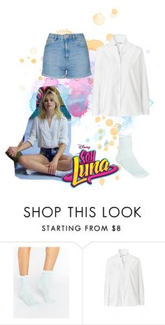 """soy luna"" by maria-look on Polyvore featuring Gipsy and Topshop"