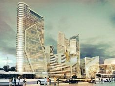 Xcity Investment zagospodaruje ponad 14 hektarów w centrum Gdyni Central Europe, Poland, Skyscraper, Investing, Multi Story Building, City, Centre, Skyscrapers, Cities
