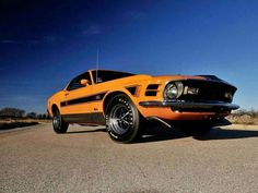 A classic Ford Mustang