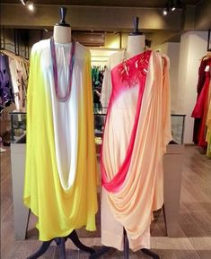 Pool Party Outfits, Party Outfits For Women, Kurti Designs Party Wear, Kurta Designs, Designs For Dresses, Draped Dress, Designer Dresses, Designer Kurtis, Indian Designer Wear