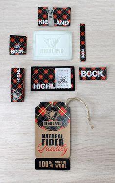 woven labels, Webetiketten, Label design, Hangtags, Lederetikett,