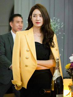Veste parfaite portée par Lee Yo-Won
