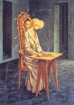 Remedios Varo Remedios Varo was a Spanish-Mexican, surrealist painter.   She was influenced by a wide range of mystic and hermetic tradition...