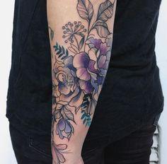 Botanical tattoo – tattoos for women half sleeve Half Sleeve Tattoos Forearm, Quarter Sleeve Tattoos, Forearm Flower Tattoo, Half Sleeve Tattoos Designs, Tattoos For Women Half Sleeve, Full Sleeve Tattoos, Tattoo Sleeve Designs, Shoulder Tattoos, Wrist Tattoos