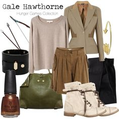 THE HUNGER GAMES : Gale Hawthorne, created by captainku on Polyvore