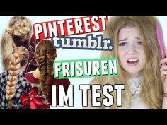 PINTEREST FRISUREN IM TEST einfach oder fail? I Meggyxoxo - YouTube