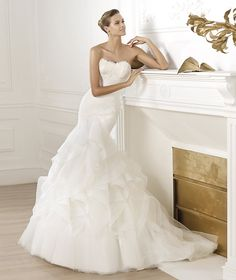 Wedding dresses from the Dreams 2015 - Pronovias collection