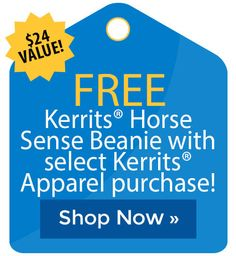 FREE Kerrits� Horse Sense Beanie with select Kerrits� Apparel purchase! Horse Supplies, Cyber Monday Sales, Holiday Deals, Black Friday Deals, The Selection, Shop Now, Beanie, Free, Beanies