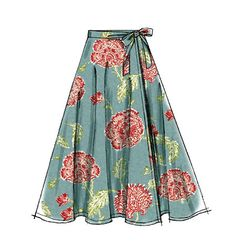 Misses' Skirt Pattern for beginners