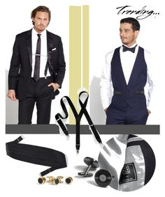 """""""Prom trends"""" by fl4u ❤ liked on Polyvore featuring Prom, menswear, formalwear and promdoover"""