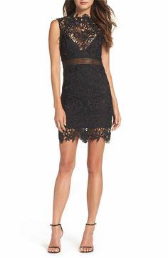 Main Image - Bardot Paris Lace Body-Con Dress