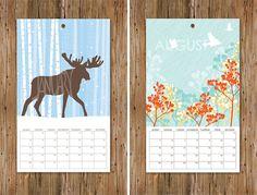 2012 letterpress calendars