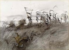 """November First"" ... by Andrew Wyeth  1950"