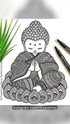 Mandala Art Therapy, Mandala Art Lesson, Mandala Artwork, Doodle Art Drawing, Mandala Drawing, Zentangle Drawings, Mandala Tattoo, Art Drawings Beautiful, Art Drawings Sketches Simple