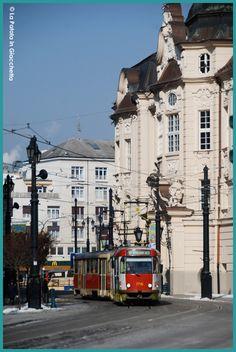 Bratislava, #lapatataingiacchetta Bratislava, World Cities, Public Transport, Buses, Vienna, To Go, Street View, City, Places