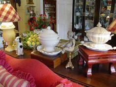 lamp shade, lake cottag, cottage living rooms, cottag live