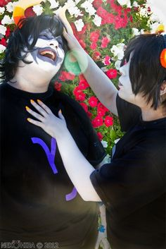 Me as Karkat Vantas