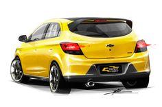 Chevrolet Onix Track Day Concept - Sketch Render