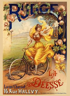 Rudge Deesse Vintage Bicycle Poster (#0922) 6 sizes