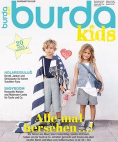 Детская мода 2014. Журнал с выкройками.