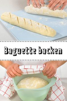Baguette backen - so geht's - The Best Healthy Dog Recipes Quick Beef Recipes, Hot Dog Recipes, Meatloaf Recipes, Potted Beef Recipe, Dog Cakes, Food Inspiration, Food And Drink, Bread, Baking