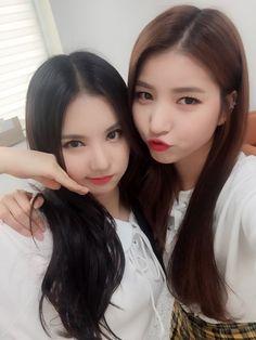 GFRIEND - SoWon #소원 (Kim SoJung #김소정) #원이 & EunHa #은하 (Jung EunBi #정은비) #여자친구