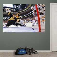 Dave Bolland 2013 Stanley Cup Winning Goal Mural