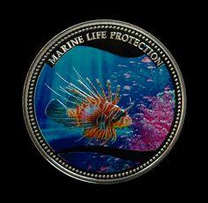 Lionfish coin