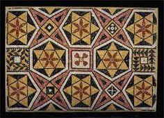 "Roman-Byzantine Mosaic Panel - PF.5313 Origin: Mediterranean Circa: 300 AD to 600 AD Dimensions: 33.5"" (85.1cm) high x 48.375"" (122.9cm) wide Collection: Classical Medium: Mosaic"