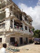 Yli 20 vuotta kestänyt konflikti on raunioittanut Somalian pääkaupunki Mogadishun. Kuva: Pelastakaa Lapset