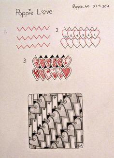 Poppie's Pen Pics ©: New Pattern - Poppie Love