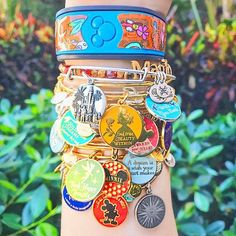 Shop all ALEX AND ANI jewelry collections, including sports bracelets, movie & TV-inspired bangles, symbol & initial necklaces & much more! Disney World Trip, Disney Vacations, Disney Trips, Disney Pixar, Disney Theme, Walt Disney, Cute Disney, Disney Dream, Disney Style