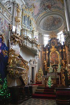 Navidad en la Iglesia de San Andrés, Cracovia, Polonia