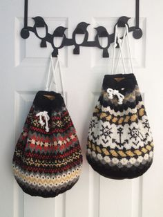 Make this bags from sweaters