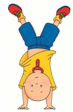 Caillou was so awesome back in the day!