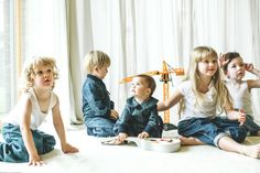 Nikolia kids denim collection from Lithuania is unisex and from babies to  9yrs