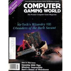 Cover Print of Computer Gaming World, February 1992 | $6.60