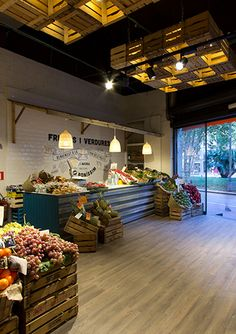 Meat Shop Layout Ideas For 2019 Fruit Party, Fruit Fruit, Fruit Snacks, Fruit Recipes, Fruit Salad, Apple Fruit, Fruit And Veg Shop, Produce Displays, Vegetable Shop