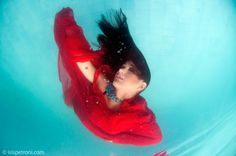 Underwater Photography - Red - Photo: Isis Petroni