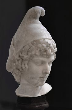 [Young Attis. Parian marble. 2nd cent. CE (age of Hadrian). Paris, National Library.