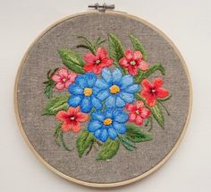 Hey, I found this really awesome Etsy listing at https://www.etsy.com/ru/listing/480538573/hand-embroidered-flowerswall-decor-with