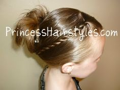 Quick French Twist for Back to School Hair