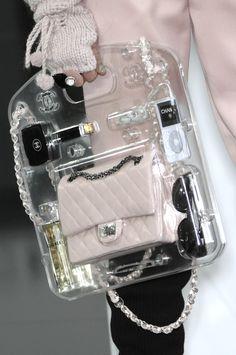 leauxnoir: CHANEL f/w 2009 plexiglass briefcase