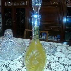 Λικέρ λεμόνι Wine Decanter, Barware, Bottle, Home Decor, Decoration Home, Room Decor, Bar Accessories, Flask, Interior Design
