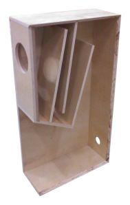 Full range speaker cabinet design