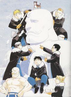 Hiromu Arakawa, BONES, Fullmetal Alchemist, Vato Falman, Roy Mustang