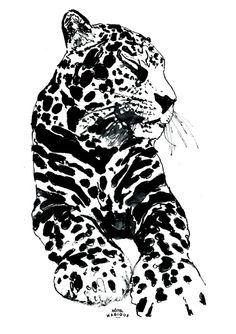 HOTEL MAGIQUE Leopard art print. Shop online HOTELMAGIQUE.COM